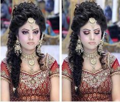 Hair Styling Cool Glamorous Bridal Mehndi Makeup And Hair Styling Donekashif Aslam