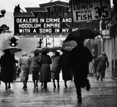Gordon Parks - Harlem Neighborhood, Harlem, New York, 1952.