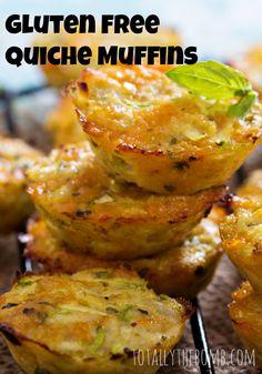 Gluten Free Quiche Muffins