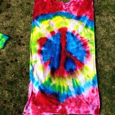 Peace sign towel