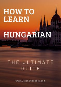 A detailed, step by step guide on how to learn Hungarian - read this if you're stuck, have no idea where to start or don't know what to do next. Spaced Repetition, Word Order, Google Image Search, European Languages, Vocabulary List, Background Information, Listening Skills, Learning The Alphabet, Ancestry