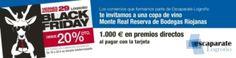 #BlackFriday, viernes 29 de Noviembre. Prueba #MonteReal en los comercios de #Logrono.