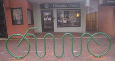 Creative Metalworks, LLC bike racks  http://www.creativemetalworksllc.com/