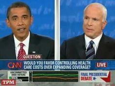 Obama Leaves McCain Dumbstruck