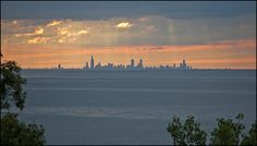Picture of the Day: Skyline Silhouette of Chicago