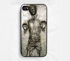 Han Solo Carbonite for Apple iPhone 4 Case, iPhone 4s Case, iPhone 4 Hard Case, iPhone Case