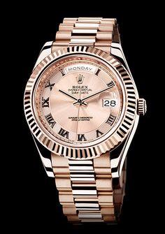 Rose Gold Watches: Rolex, Cartier, Zenith, Piaget, IWC
