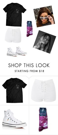 """""""Erika Costell Ft.Jake paul merch"""" by avac2006 ❤ liked on Polyvore featuring Topshop and Converse"""