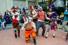 Borderlands 2 cosplay. Video games. awesome!!!