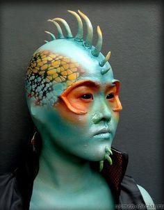 мейкап на хэллоуин Halloween makeup