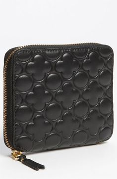 Comme des Garçons Embossed Clover French Wallet  Oooooooooooooh, may have to get this