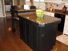 Here S A Baltic Brown Granite Kitchen Island