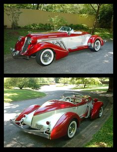 Auburn Speedster - - New Ideas Auto Retro, Retro Cars, Auburn Car, Cars Vintage, Roadster, American Classic Cars, Classy Cars, Cabriolet, Unique Cars