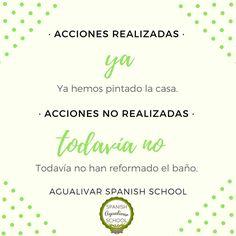 Cuándo usamos YA y cuándo TODAVÍA NO. Clase de ELE. Spanish Class, Words, Spanish Language, Unity, Vocabulary, Spanish Classroom, Horse