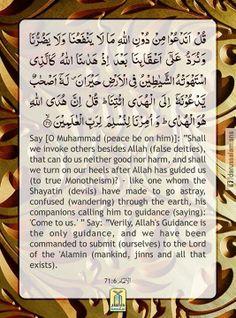 Quran's Lesson - Surah Al-Ana'm 6, Verse 71, Part 7 #DarussalamPublishers #AyatOfTheDay #Quran #VersesOfQuran