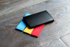 N3D minimalist wallet, slim, design, black wallet