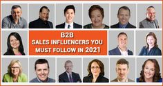 We have a list of sales influencers who could train you in becoming a smooth talker and convince the prospect of becoming the customer. We have skimmed out some of the top influencers whom you can follow to increase sales. Visit us to learn more about 15 top B2B sales influencers you must follow in 2021 Smooth Talker, Increase Sales, You Must, How To Become, Train, Marketing, Learning, Blog, Studying
