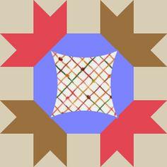 HANDS ALL AROUND - Antique Geometric Quilt Designs