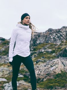 We designed this weather-resistant run jacket to put winter worries to rest | Keep It Up Jacket