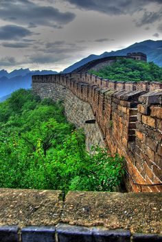 Great Wall @ Mutianyu - China its just a sheild Beautiful Dream, Beautiful World, Beautiful Places, Great Places, Places To Go, Travel Around The World, Around The Worlds, In The Beginning God, Great Wall Of China
