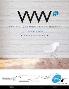 1 5 T H A N N I V E R S A R Y  The Best is yet to come  #followwthewrabbit #webworking #15anniversary