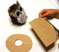that artist woman: How to make a Pompom Owl