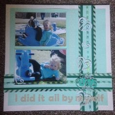 Blue tones I did it all by myself Picture Scrapbook, Blue Tones, Layout, Frame, Pictures, Home Decor, Photos, Homemade Home Decor, Page Layout