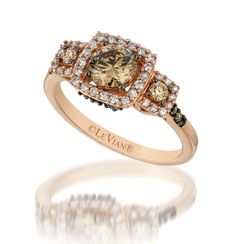 Another chocolate diamond ring by LeVian. Really like this one