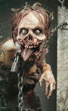 """I need a dentist to eat """" ha ha ha"""" ha ha"""" treat or treat I want your meat!."""