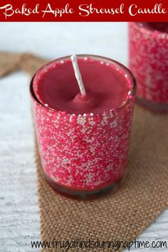 Save some money by making your very own candles at home. It's super easy, and…