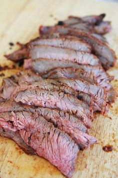 Sliced Pit Beef, done on the grill, adapted from guy fieri's recipe. takes much less time than other pit beef recipes.