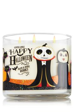 Happy Halloween - Sweet Cinnamon Pumpkin 3-Wick Candle - Home Fragrance 1037181…