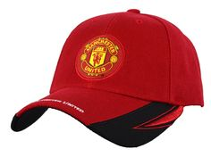 Manchester United Adjustable Cap Hat New Season Red Black (RED 1900) at Amazon…