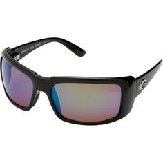 a2a7ad948a Costa Del Mar Cheeca Poalrized Sunglasses - Costa 580 Glass Lens - Women s  Black Green Mirror