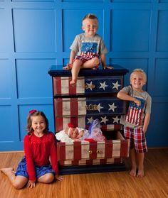 flag dresser