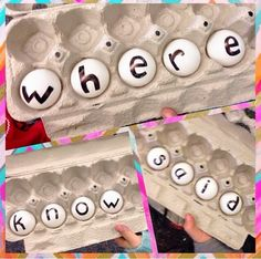 Mix and Fix Sight Words! Lots of fun activities for learning sight words.