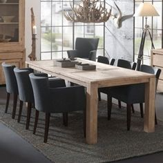 Beachwood Furniture Extension Dining Table In Solid Oak M - Beachwood dining table