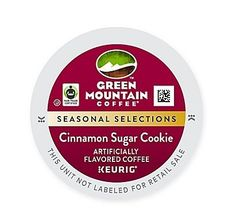 Keurig KCup Pack 18Count Green Mountain Coffee Cinnamon Sugar Cookie Coffee * Check out the image by visiting the link. Note: It's an affiliate link to Amazon.