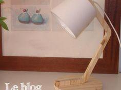 Lampe de bureau DIY