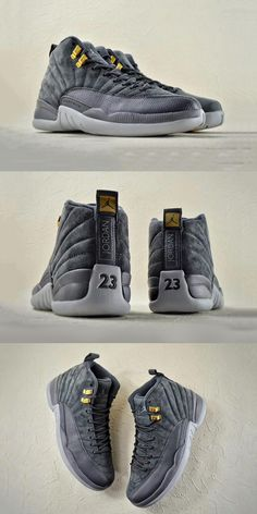 "Nike Air Jordan 12 ""Dark Grey"""
