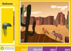 Free Technology for Teachers: Habitats - An Educational Game from the Smithsonian