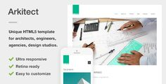 Arkitect - A Professional HTML5 Template for Architects and Engineers