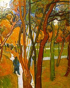 The Walk, Falling Leaves...Vincent van Gogh