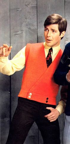 Mens Retro Mod 60s Vest Digital Knitting Pattern by YarnSkippy Vintage Men 6fb82a671