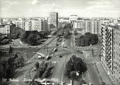 Milano in cartolina 24 Milan, Vintage Photos, Graphics, Black And White, History, Places, Travel, Card Stock, Photos