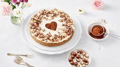 Cheesecake s bílou čokoládou