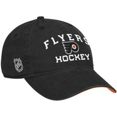 5c9a84503090c Sports Shop has Reebok Philadelphia Flyers Center Ice Locker Room Slouch  Adjustable Hat - Black plus easy flat rate shipping!