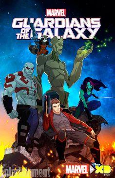 Primer tráiler de la serie animada de Guardianes de la Galaxia
