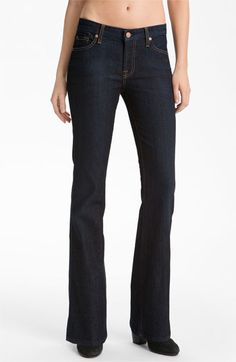 7 For All Mankind® Bootcut Jeans (L'amour Empire Blue) (Petite)