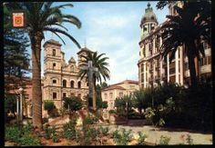 Plaza del Caudillo (plaza de Sto. Domingo).vía Museo Huertano de Murcia